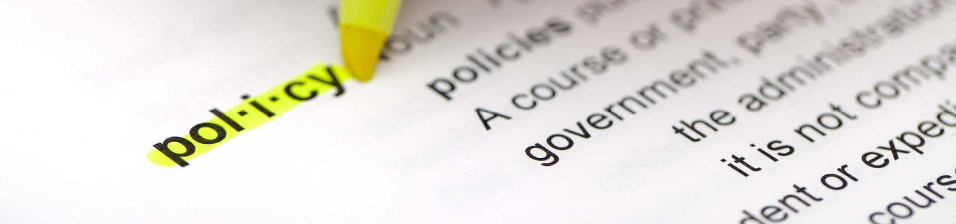 Background: Policy Highlight